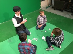 Thanks to TTCTV for a great experience filming our Charlie Chaplin Movies!